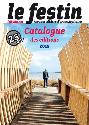 catalogue des éditions 2015 - Le Festin