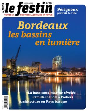 Le Festin #113 - Explorez vos patrimoines / Bordeaux les bassins de lumières