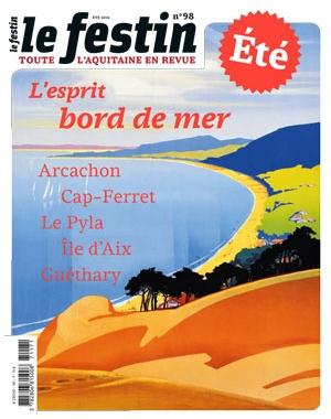 Le Festin #98 - L'esprit bord de mer - numéro d'été 2016