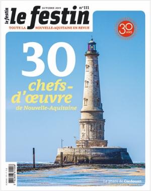 Le Festin #111 - 30 chefs-d'œuvre de Nouvelle-Aquitaine