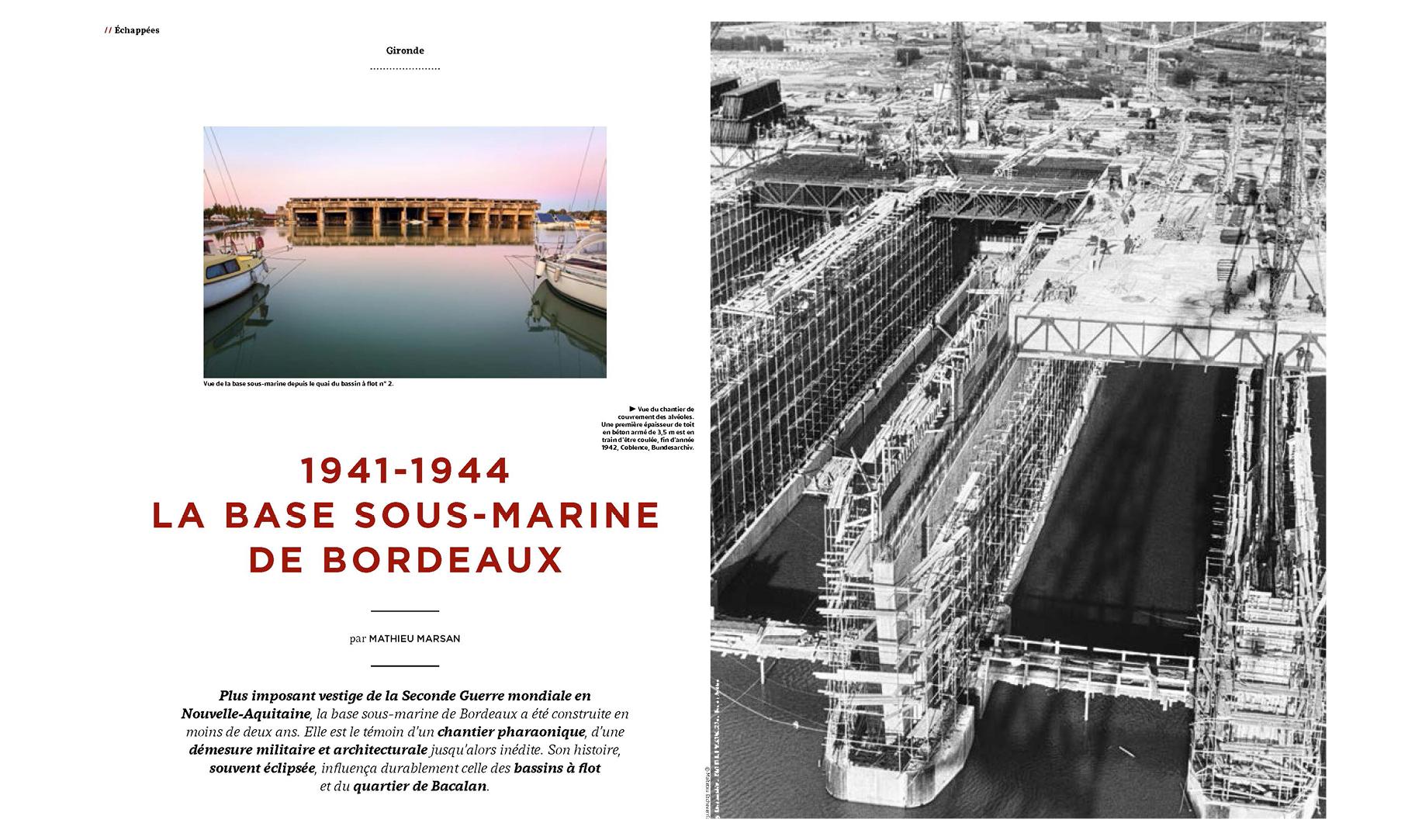La base sous-marine de Bordeaux
