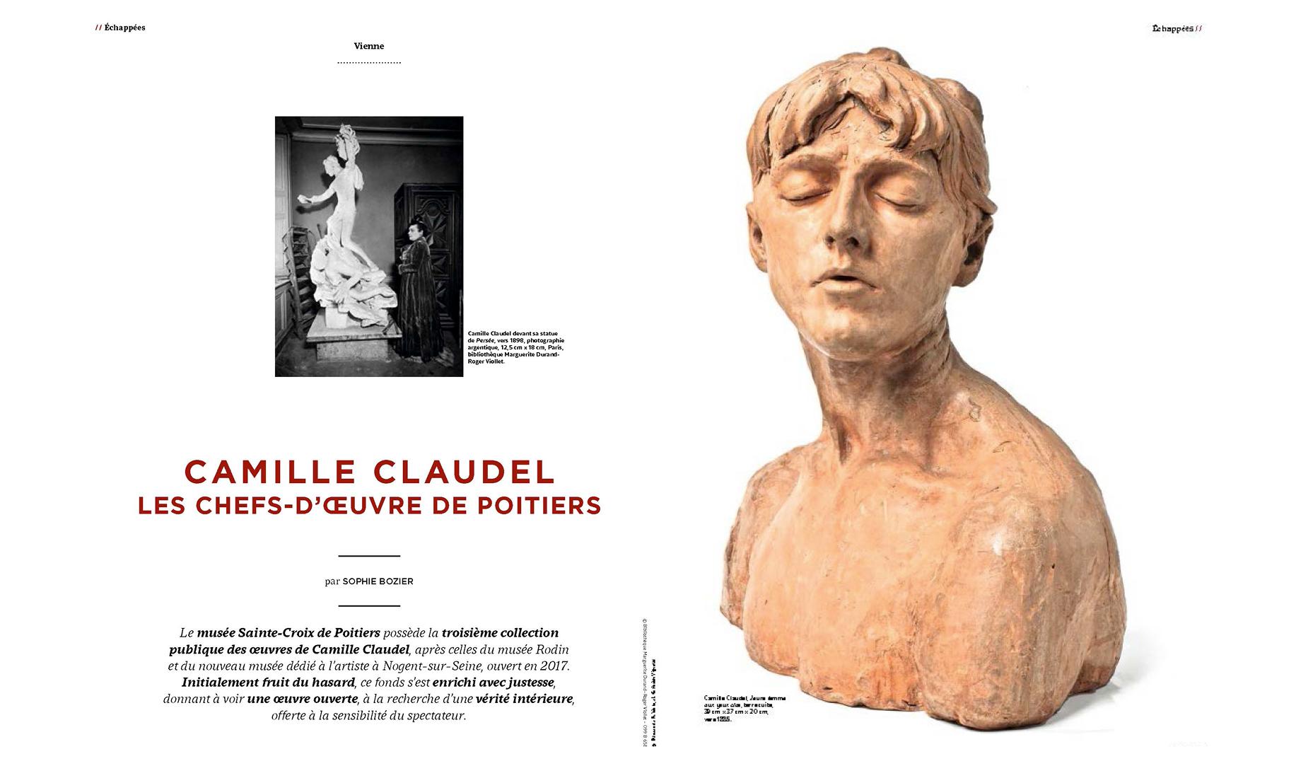 Camille Claudel - Les chefs-d'œuvre de Poitiers