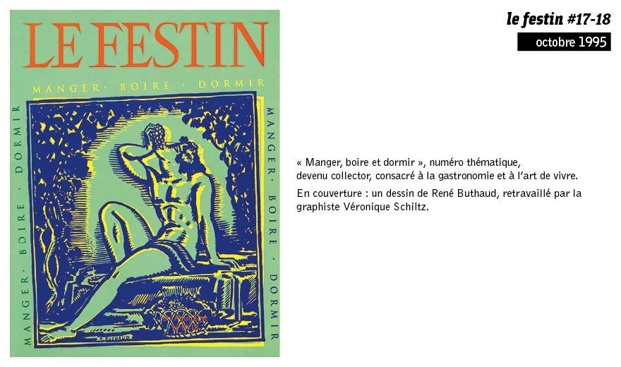 LE FESTIN en 15 couvertures - 1995