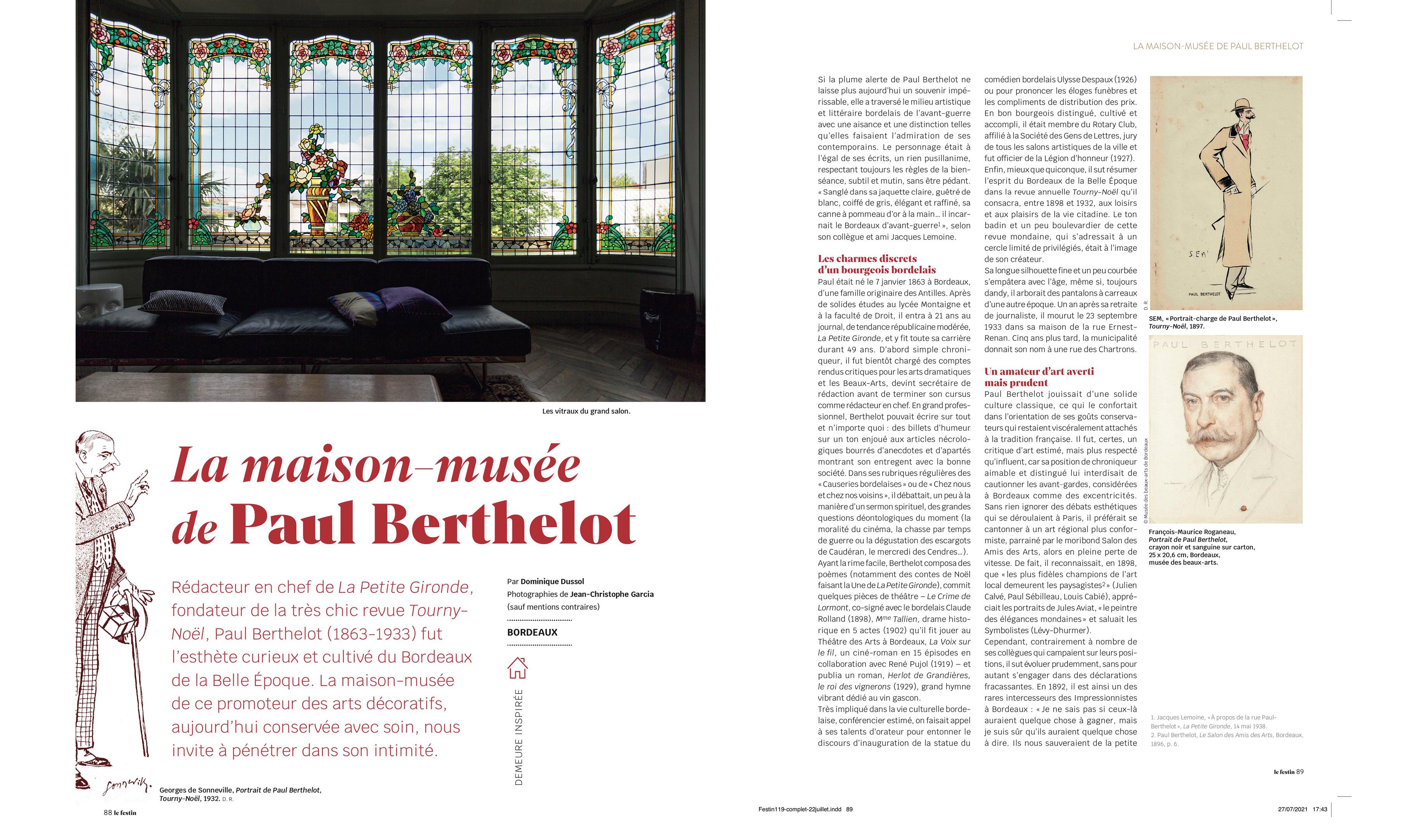 Maison Paul Berthelot - Festin #119